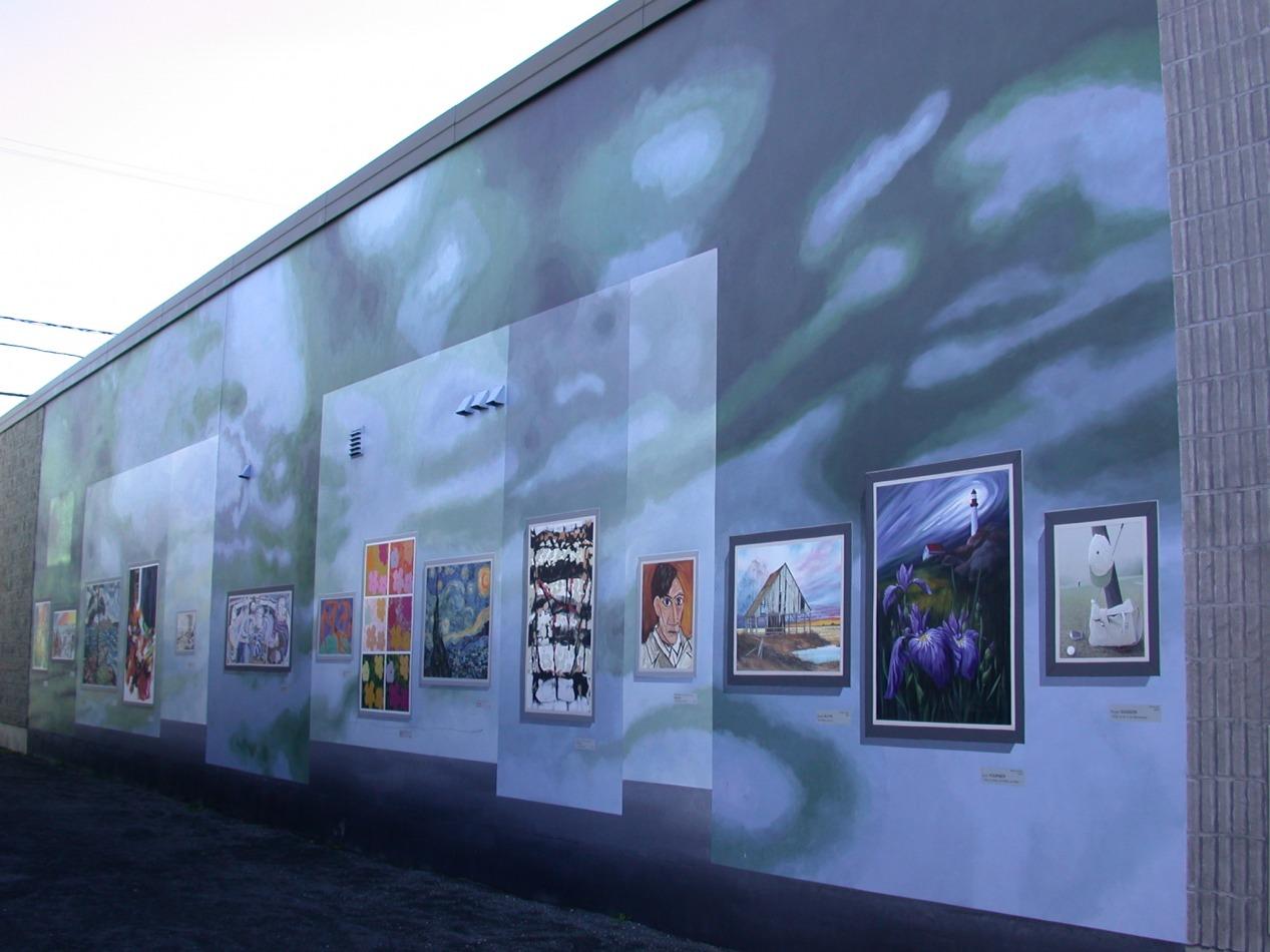 Circuit Mont-Joli:<br/> 8-La Fresque «Reflets d'ici et d'ailleurs», 2007