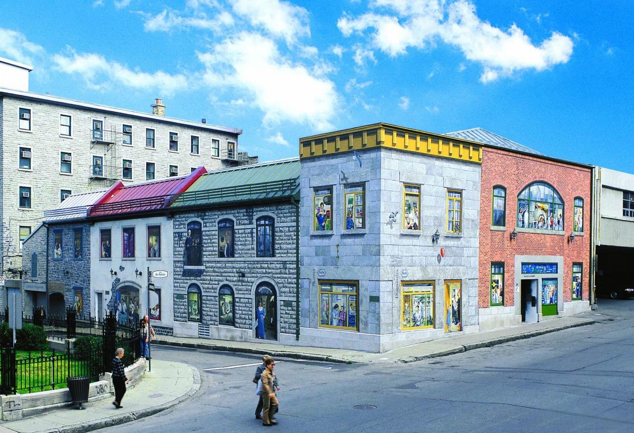 Circuit Québec-Lévis:<br/> 3-La Fresque de L'Hôtel-Dieu de Québec, 2002-2012