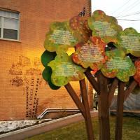 Sculpture-Fresque identitaire Centre-Ville de La Malbaie