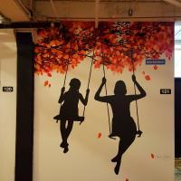 Murale Joie de vivre