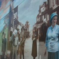 Fresque «La Malbaie autrefois»  2013