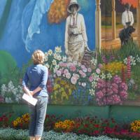 Circuit Mont-Joli:<br/> 12- La Fresque «Jardins, arts… et tradition», 2009
