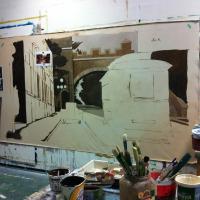 Murale salle avant