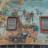 Circuit Québec-Lévis:<br/> 5-La Fresque du Centre Horizon, 2004
