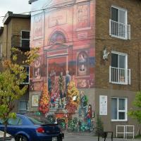 La Fresque des 150 ans de Victoriaville, 2011